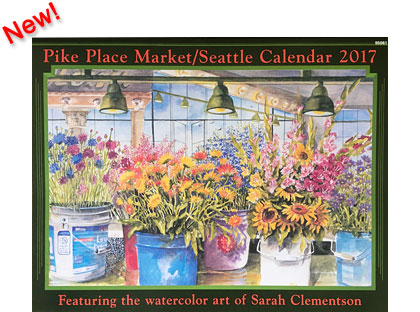 2017 Calendar - Pike Place Market - Seattle