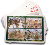 """Around Washington"" Playing Cards"