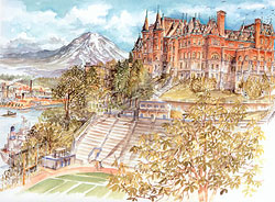 Tacoma's Stadium High School Limited Edition Print