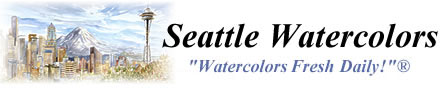 Seattle Watercolors - Pike Place / Seattle Calendar and more.